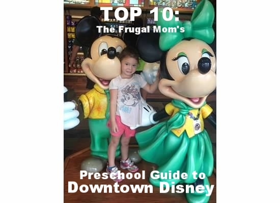 Downtown Disney Top 10