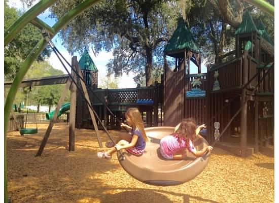 Flying saucer fun!