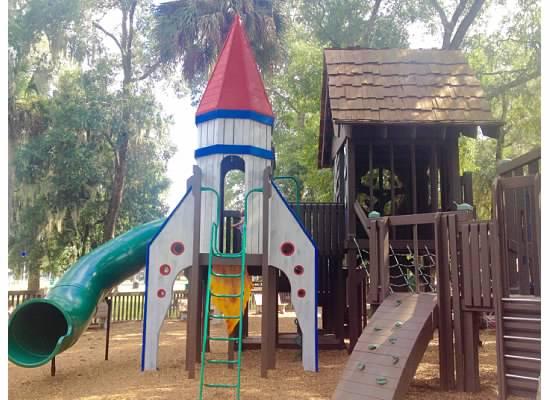 rocket ship area