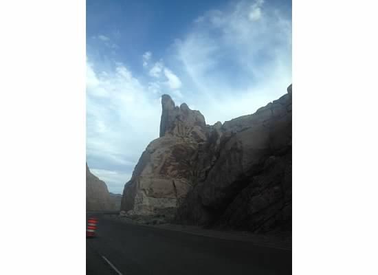 Somewhere on I-70 east in Utah